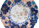 Haviland's charger plate made of fine Limoges porcelain is unique as it presents a reproduction of a famous artist Edouard Dammouse.