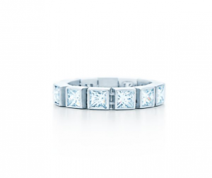 7. Diamond Line Ring, Tiffany T