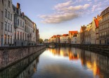 If you want to see real gems of Europe, such cities as Bruges and Cologne are worth visiting. Beautiful medieval Bruges features cobbled streets that contribute to fabulous romantic atmosphere of the place.