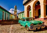 The tourism is well-developed in Cuba. 11 million people live in Cuba and 3 million tourists come to visit the country annually. Most of them come from Canada, Spain, and Italy.