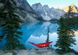 With its rugged peaks, meadowed valleys, and turquoise-blue lakes, Banff (Canada) offers everything from mountain hikes and horseback excursions to hot spring soaks and luxury accommodations